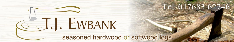 TJ Ewbank Logs Logo